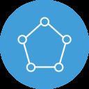 Icono de comunicación digital