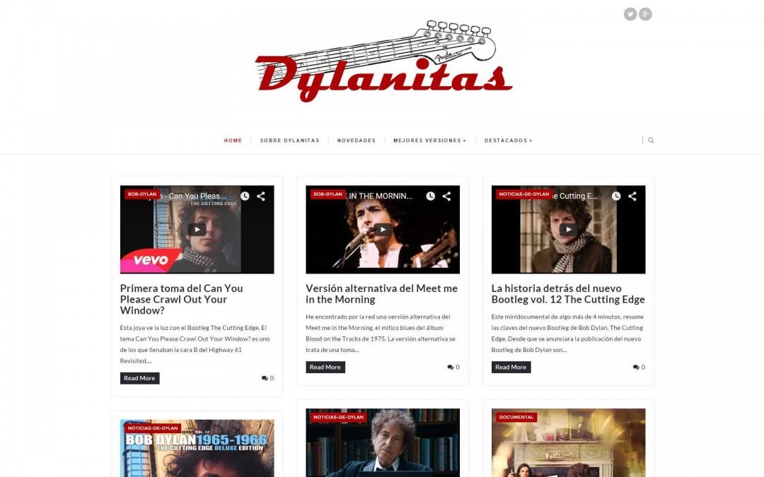 Diseño Web para el Blog Dylanitas