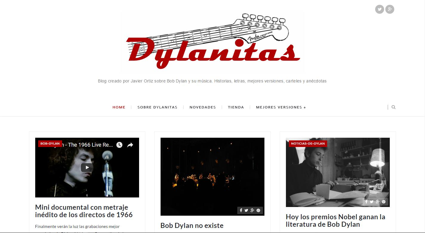Captura del Blog Dylanitas