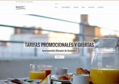 Web de Apartamentos Marques de Guadiario