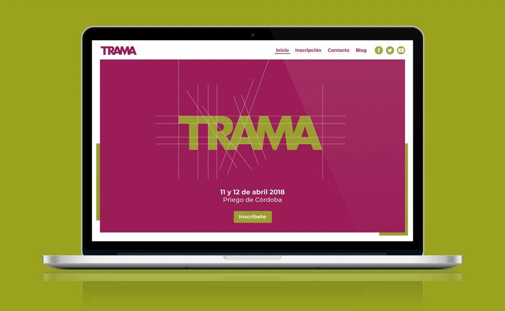 Nueva web de Trama