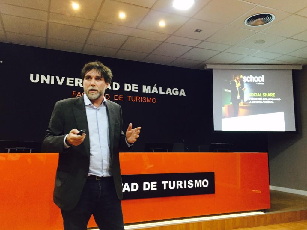 Javier Ortiz. Minube Talks Málaga