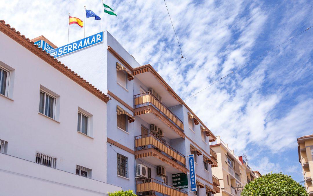 Diseño web con motor de reservas Serramar Benalmádena