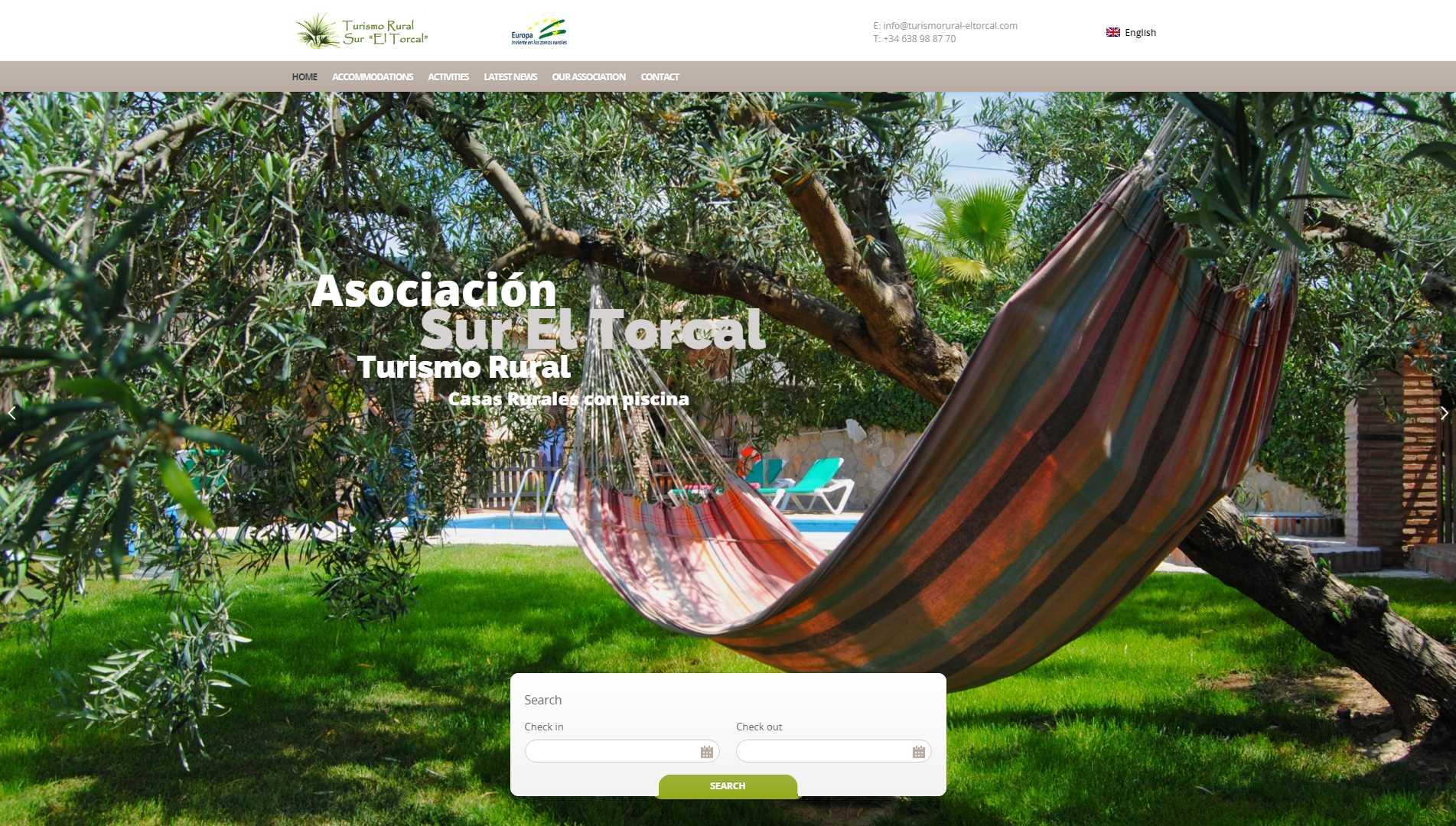 Web de Turismo Rural Sur El Torcal
